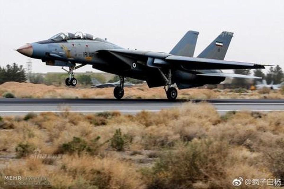 Tiem kich F-14 Tomcat Iran tang suc manh nho Nga va Trung Quoc-Hinh-2
