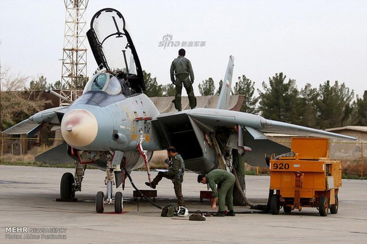 Tiem kich F-14 Tomcat Iran tang suc manh nho Nga va Trung Quoc-Hinh-3