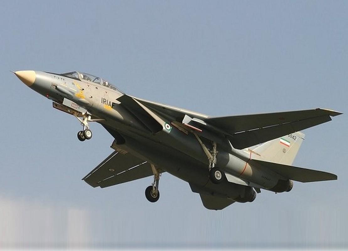 Tiem kich F-14 Tomcat Iran tang suc manh nho Nga va Trung Quoc