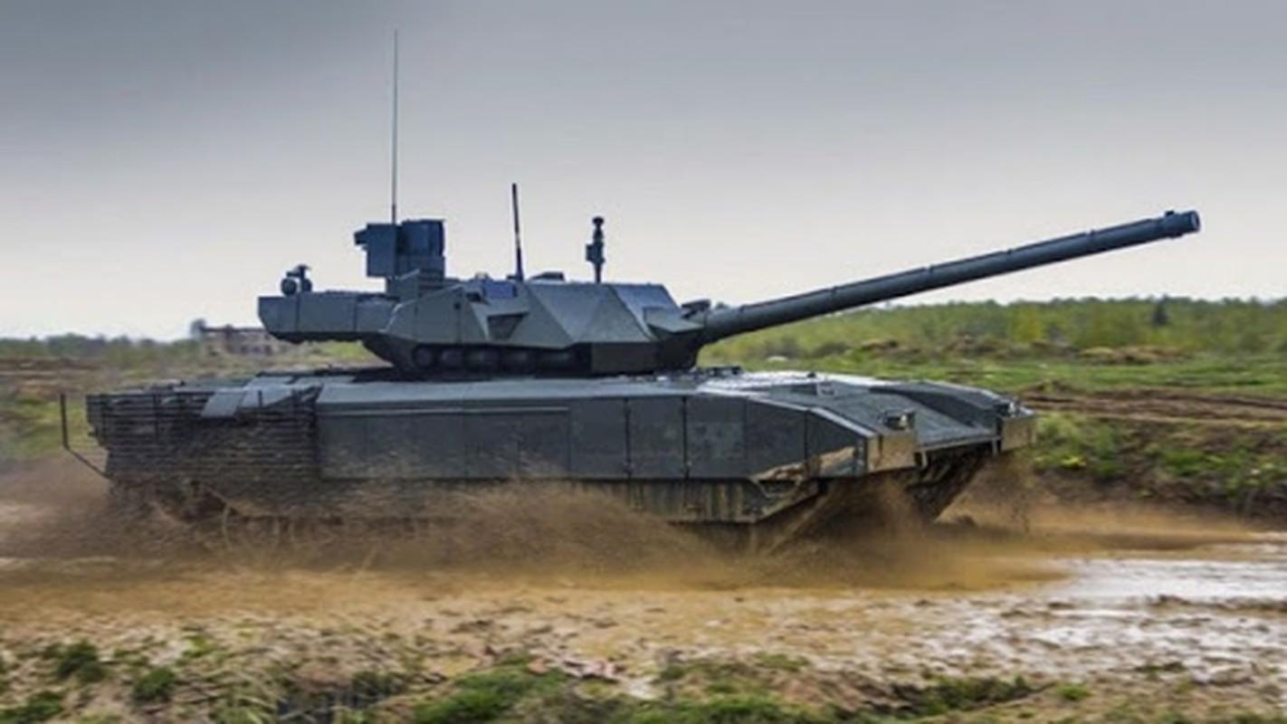 Dieu gi khien xe tang T-14 Armata cua Nga