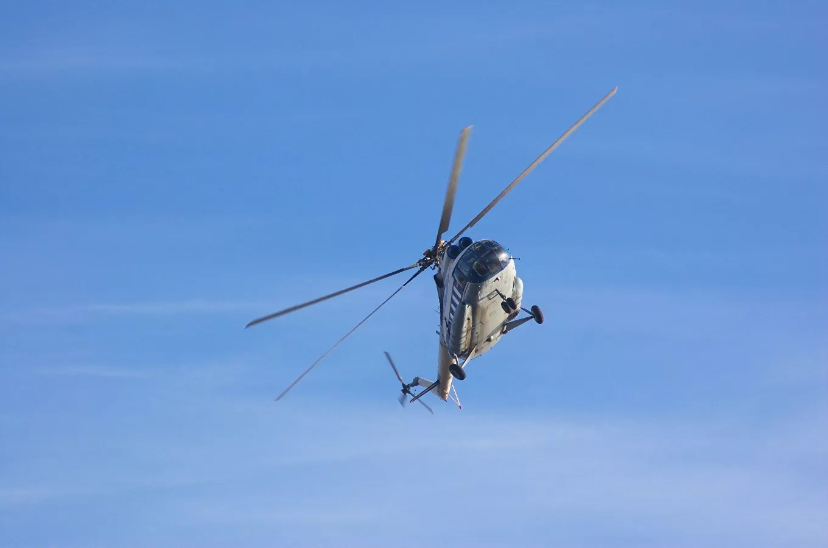 Mi-8 lai roi, to bay thiet mang: Khong quan Nga dang co van de?