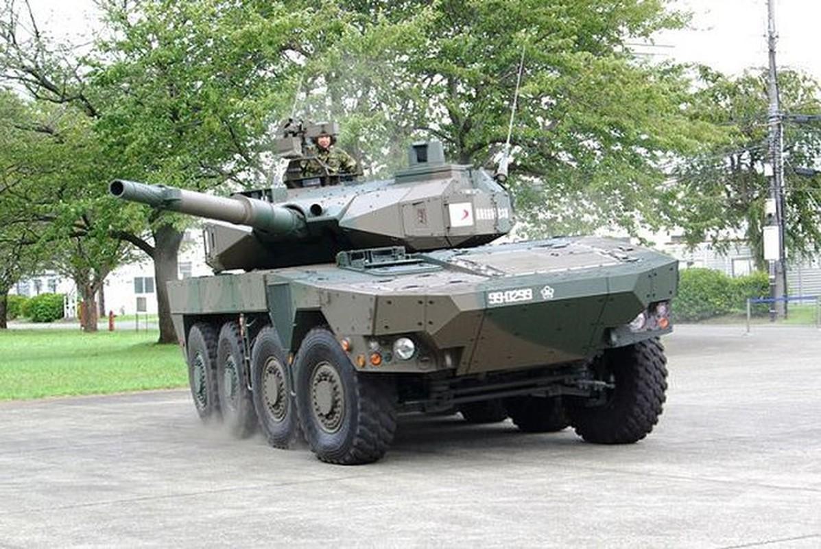 Suc manh xe tang banh lop Type-16 cuc