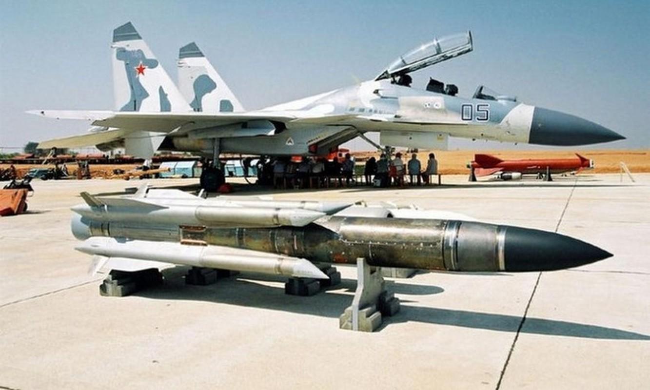 Venezuela de doa dung Su-30MK2 mang ten lua Kh-31 ban ha tau chien My-Hinh-11