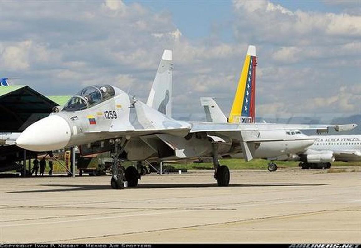 Venezuela de doa dung Su-30MK2 mang ten lua Kh-31 ban ha tau chien My-Hinh-3