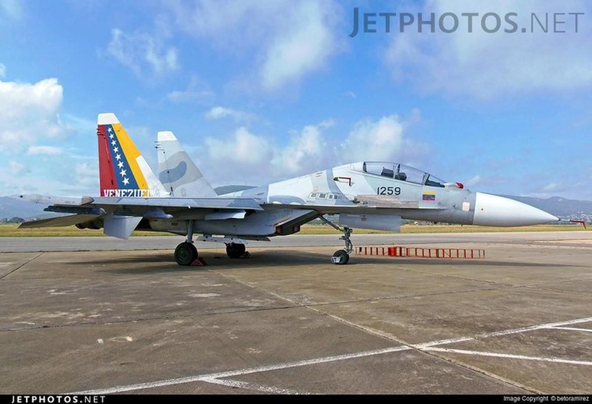 Venezuela de doa dung Su-30MK2 mang ten lua Kh-31 ban ha tau chien My-Hinh-6