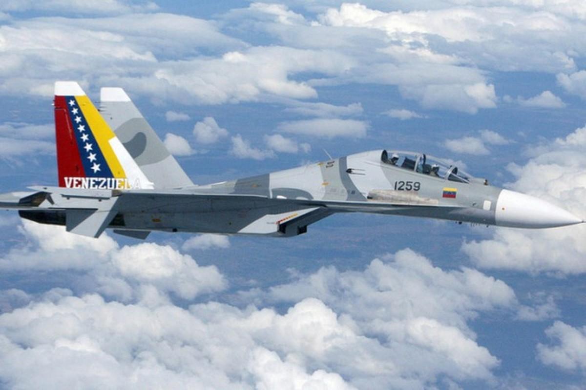 Venezuela de doa dung Su-30MK2 mang ten lua Kh-31 ban ha tau chien My-Hinh-8