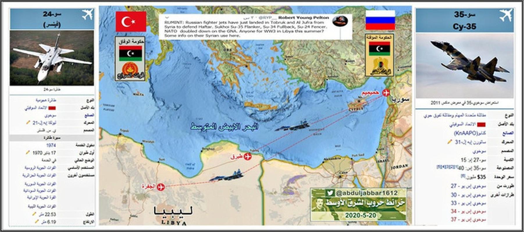 Nhieu loan thong tin may bay khong quan Nga tham chien o Libya-Hinh-2