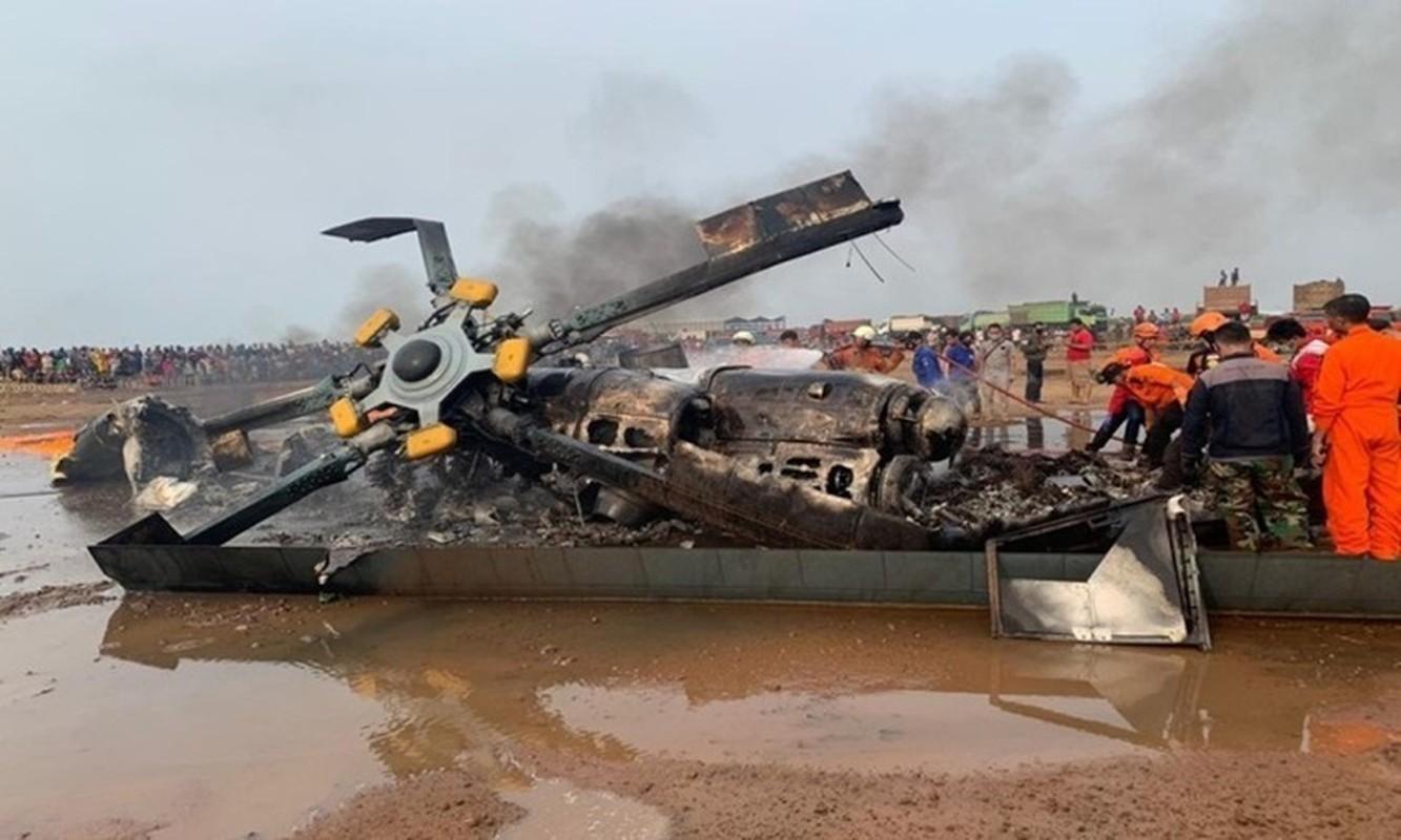 Mi-17V-5 Indonesia roi anh huong gi den tieng tam xuat khau truc thang Nga?