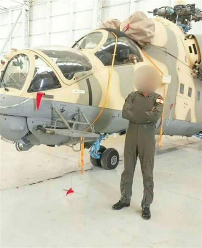 Soi truc thang Mi-24 Ai Cap mang rocket S-80 pho dien suc manh o Libya-Hinh-3