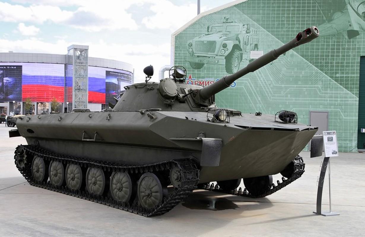 Huong nang cap cho xe tang loi nuoc PT-76 Viet Nam dang so huu