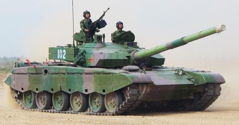 Xe tang chu luc Type-96 Trung Quoc tang suc ep len bien gioi An Do-Hinh-10