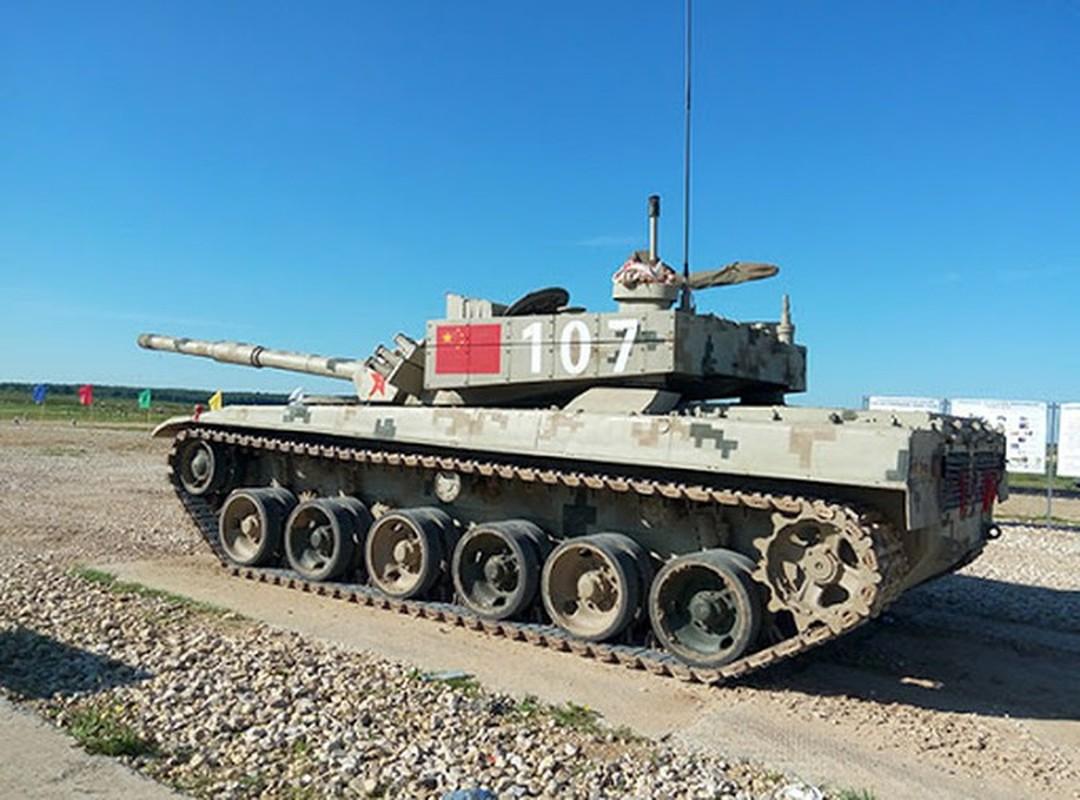 Xe tang chu luc Type-96 Trung Quoc tang suc ep len bien gioi An Do-Hinh-11
