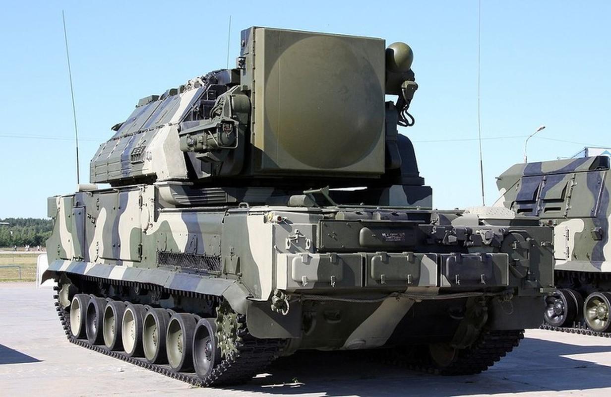 Ten lua Tor-M2 Nga xung danh sat thu san UAV o chien truong Syria-Hinh-11