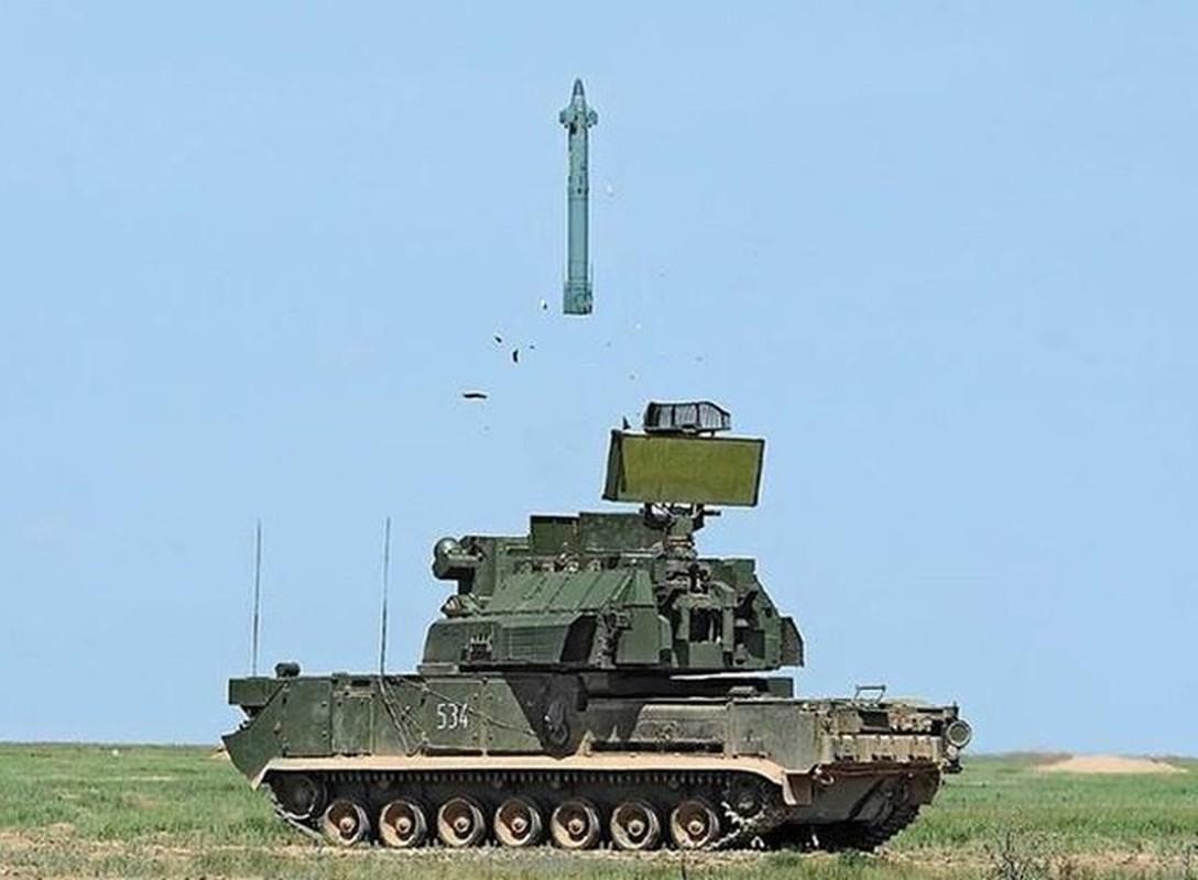 Ten lua Tor-M2 Nga xung danh sat thu san UAV o chien truong Syria-Hinh-3