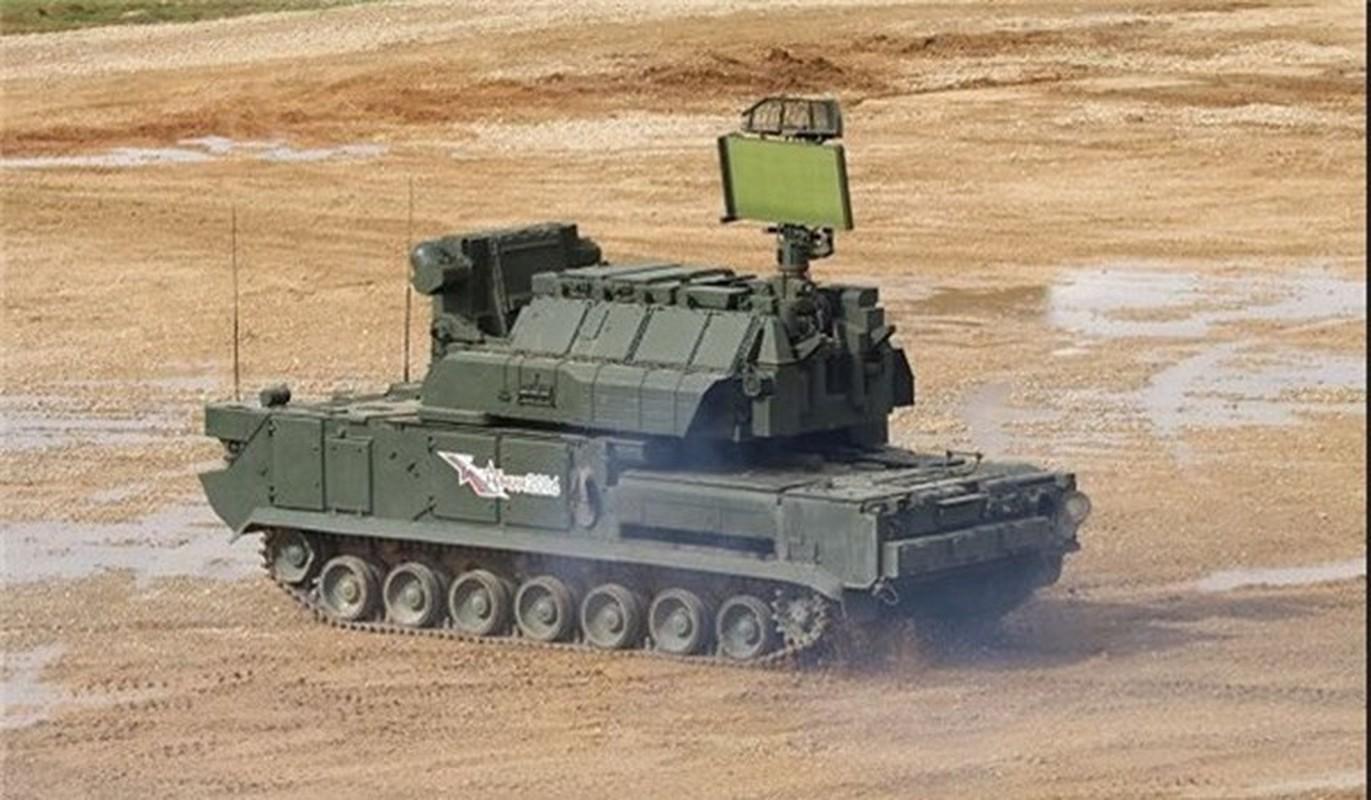 Ten lua Tor-M2 Nga xung danh sat thu san UAV o chien truong Syria-Hinh-8