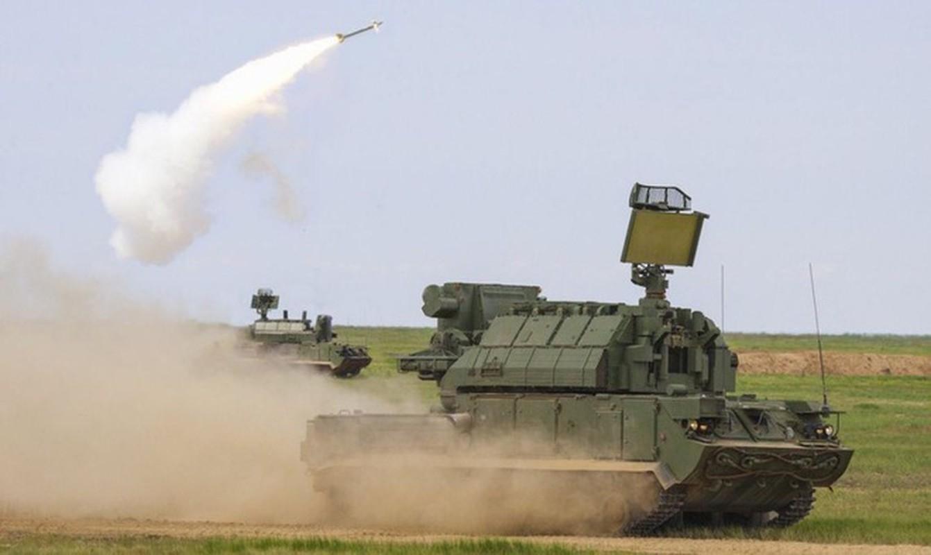 Ten lua Tor-M2 Nga xung danh sat thu san UAV o chien truong Syria-Hinh-9