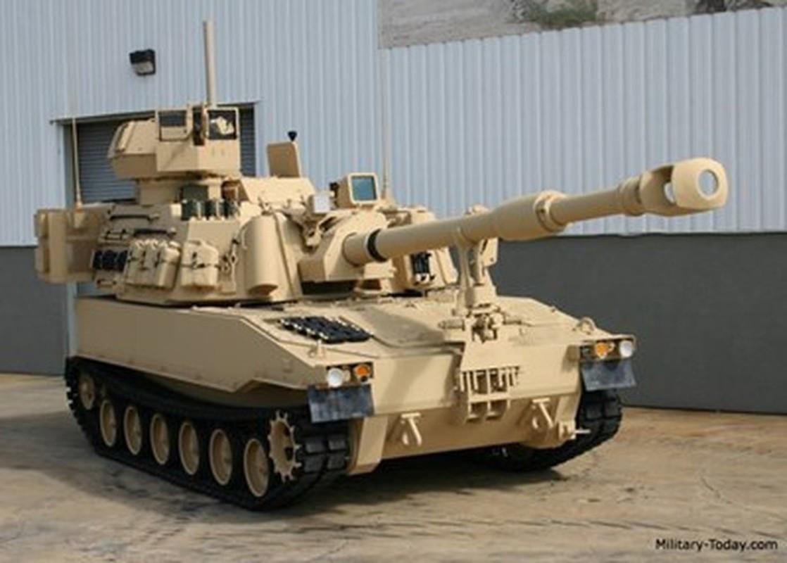 Phao tu hanh M109A7 Paladin 155mm cua My ha duoc ca may bay-Hinh-16