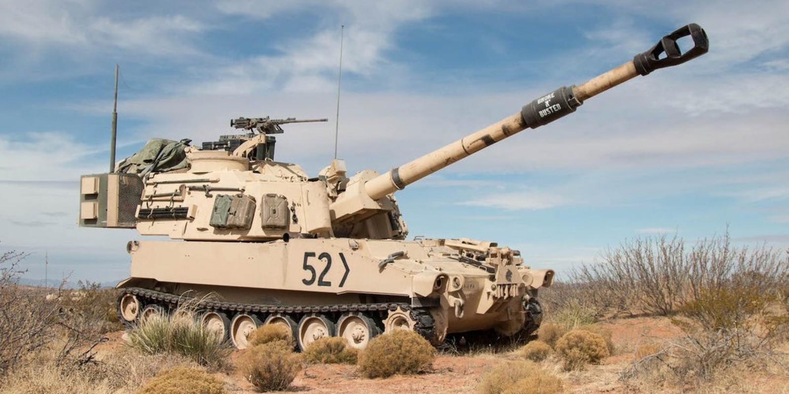 Phao tu hanh M109A7 Paladin 155mm cua My ha duoc ca may bay-Hinh-17