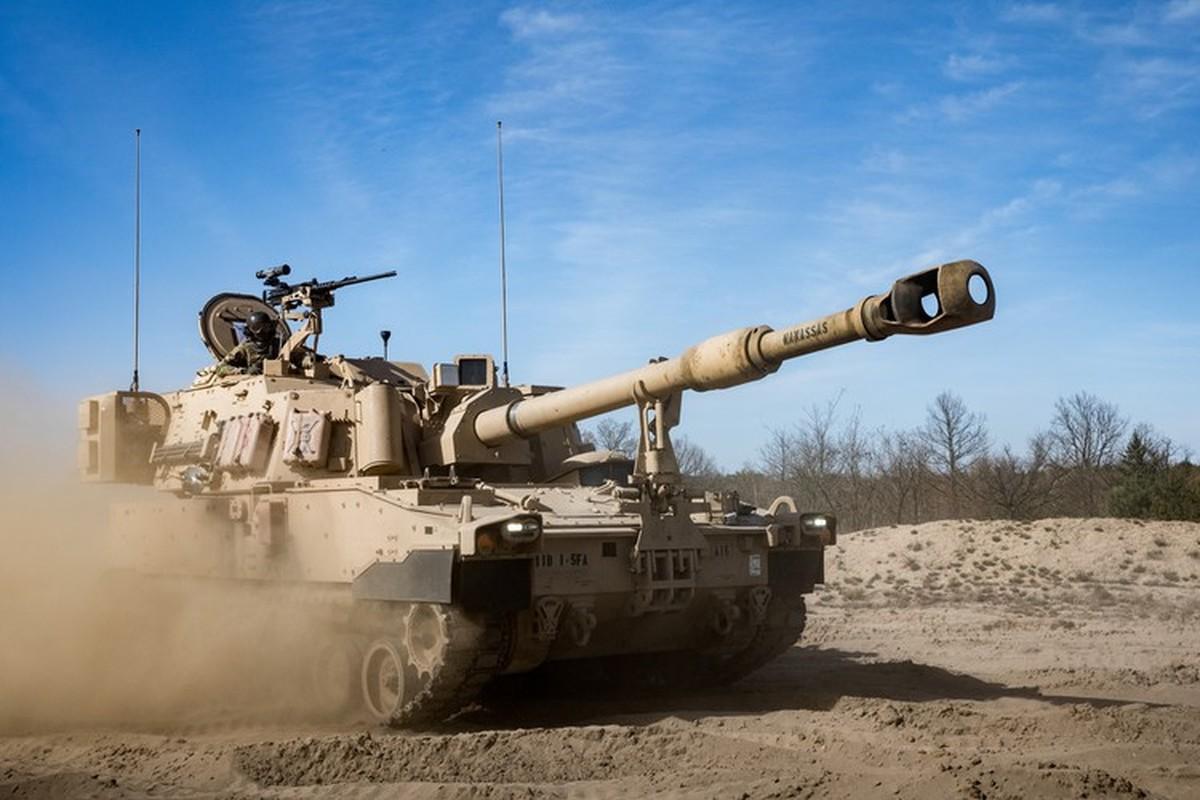 Phao tu hanh M109A7 Paladin 155mm cua My ha duoc ca may bay-Hinh-19