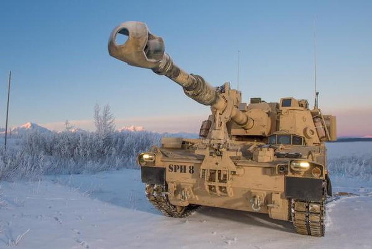 Phao tu hanh M109A7 Paladin 155mm cua My ha duoc ca may bay-Hinh-20