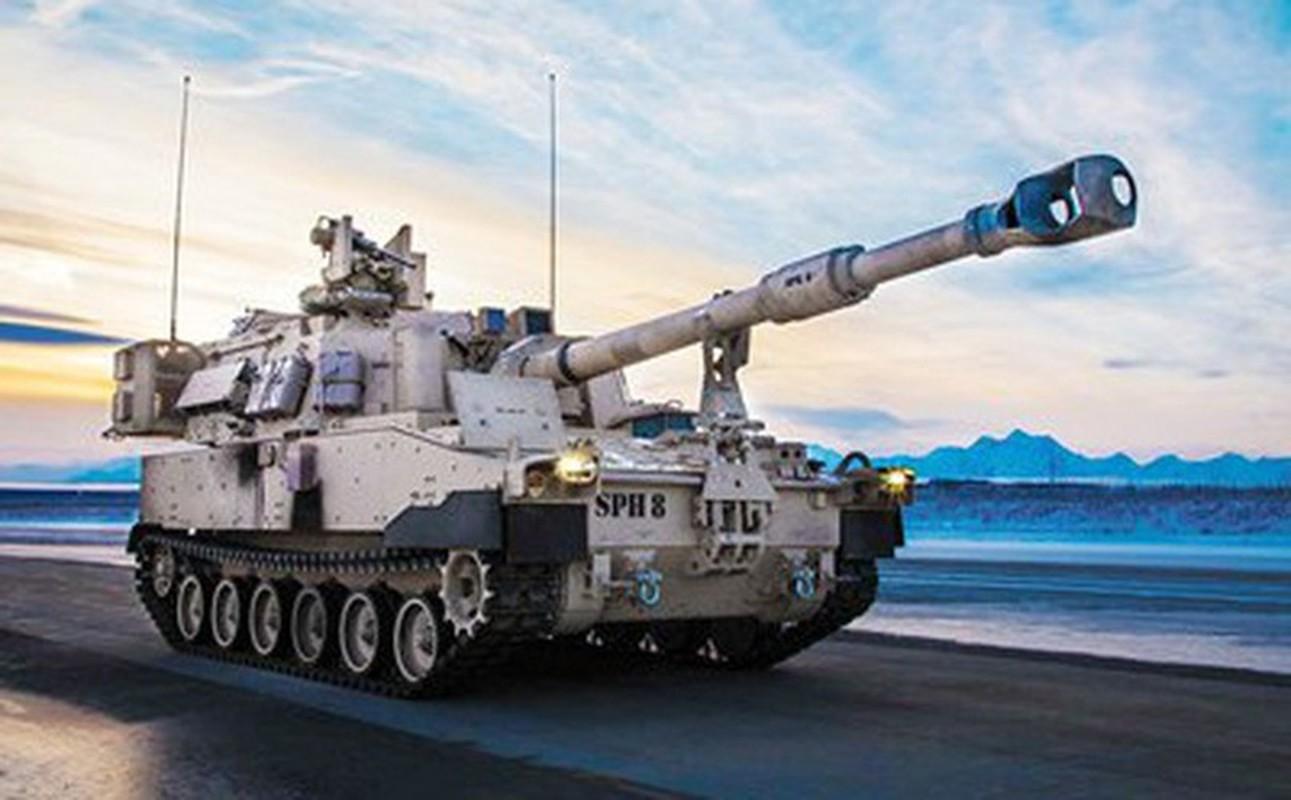 Phao tu hanh M109A7 Paladin 155mm cua My ha duoc ca may bay-Hinh-7