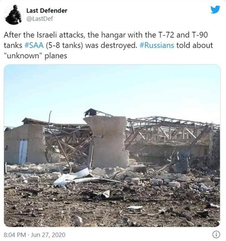 Nghi van ca lo xe tang T-90 Syria vua nhan da bi Israel diet gon-Hinh-8