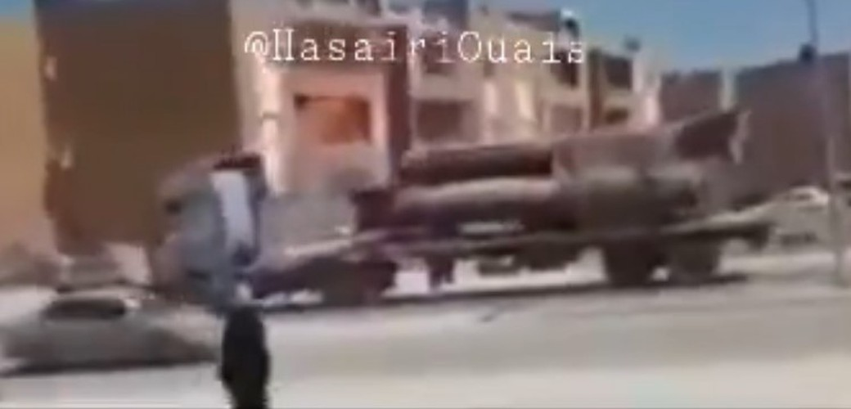 Quan doi Quoc gia Libya dung ten lua Scud-B chong lai Tho Nhi Ky