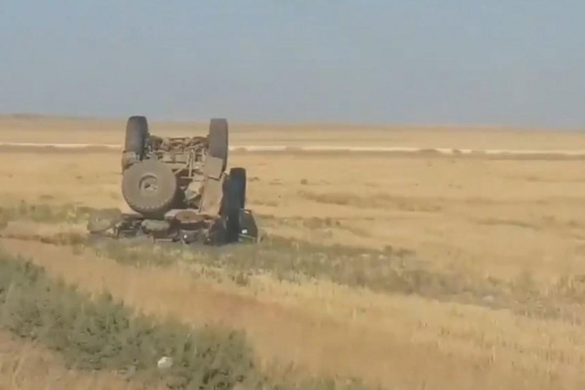 Dam vao thiet giap Nga, xe boc thep M-ATV My lat ngua o Syria-Hinh-3