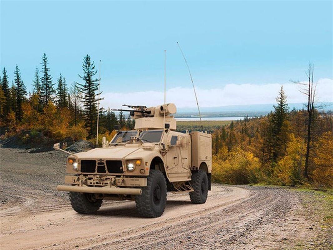 Dam vao thiet giap Nga, xe boc thep M-ATV My lat ngua o Syria-Hinh-8