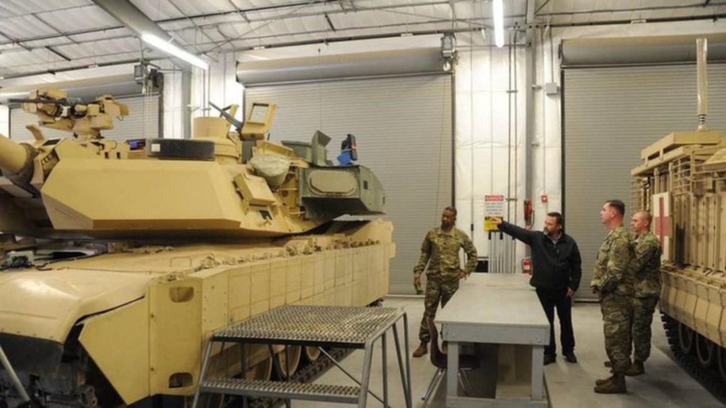 My tiep nhan lo xe tang M1A2C Abrams nang cap cuc manh dau tien-Hinh-11