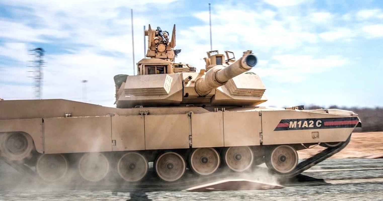 My tiep nhan lo xe tang M1A2C Abrams nang cap cuc manh dau tien-Hinh-8
