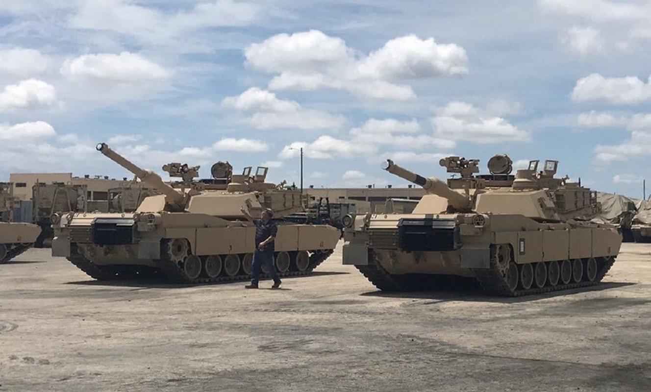 My tiep nhan lo xe tang M1A2C Abrams nang cap cuc manh dau tien