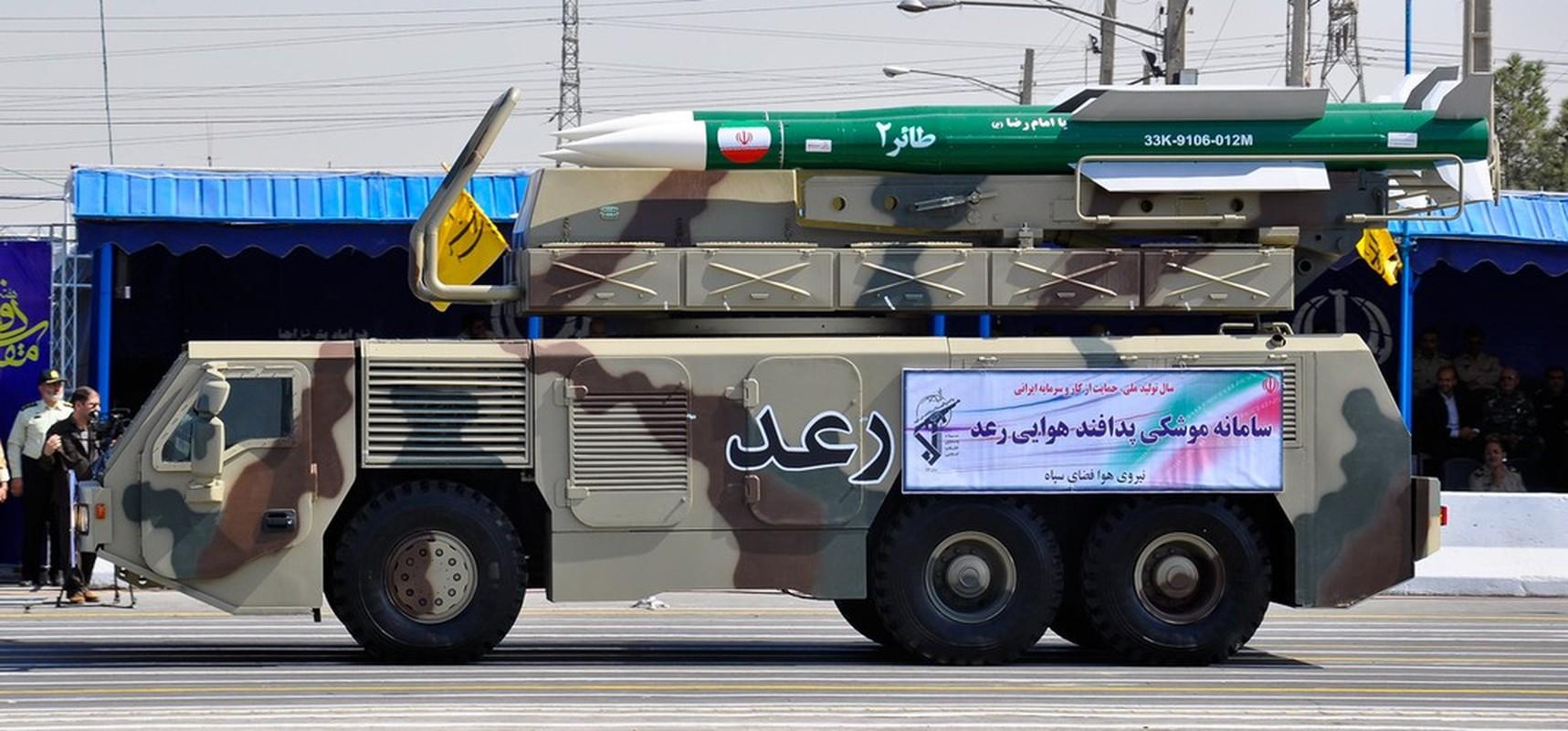 Ten lua phong khong Khordad-3 Iran suyt ban nham may bay chien dau Nga-Hinh-13