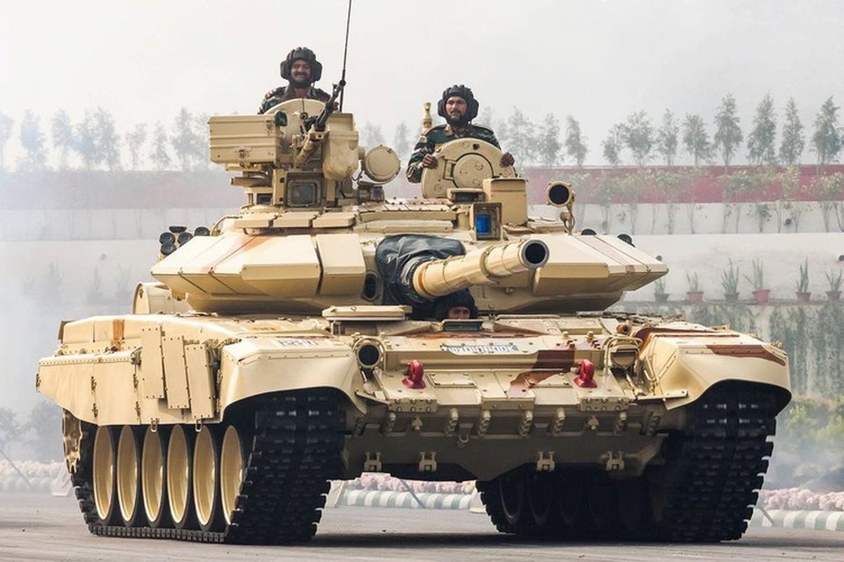 Lo linh Trung Quoc vuot bien gioi, An Do trien khai 12 xe tang T-90-Hinh-21