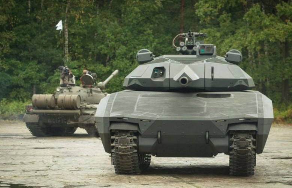Soi ky lop vo tang hinh sieu doc cua xe tang PL-01 Ba Lan-Hinh-12