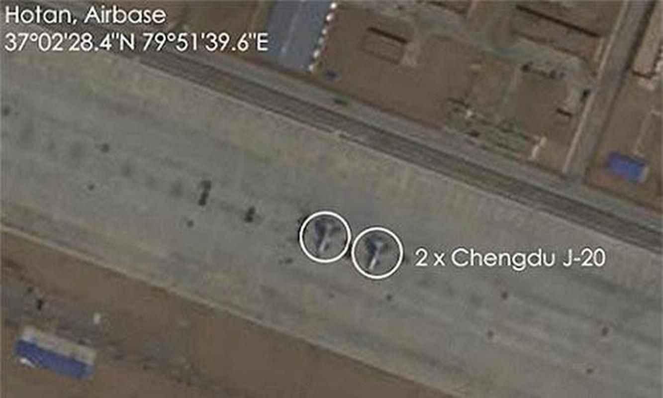 Trung Quoc bi mat dua tiem kich J-20 len bien gioi sat An Do