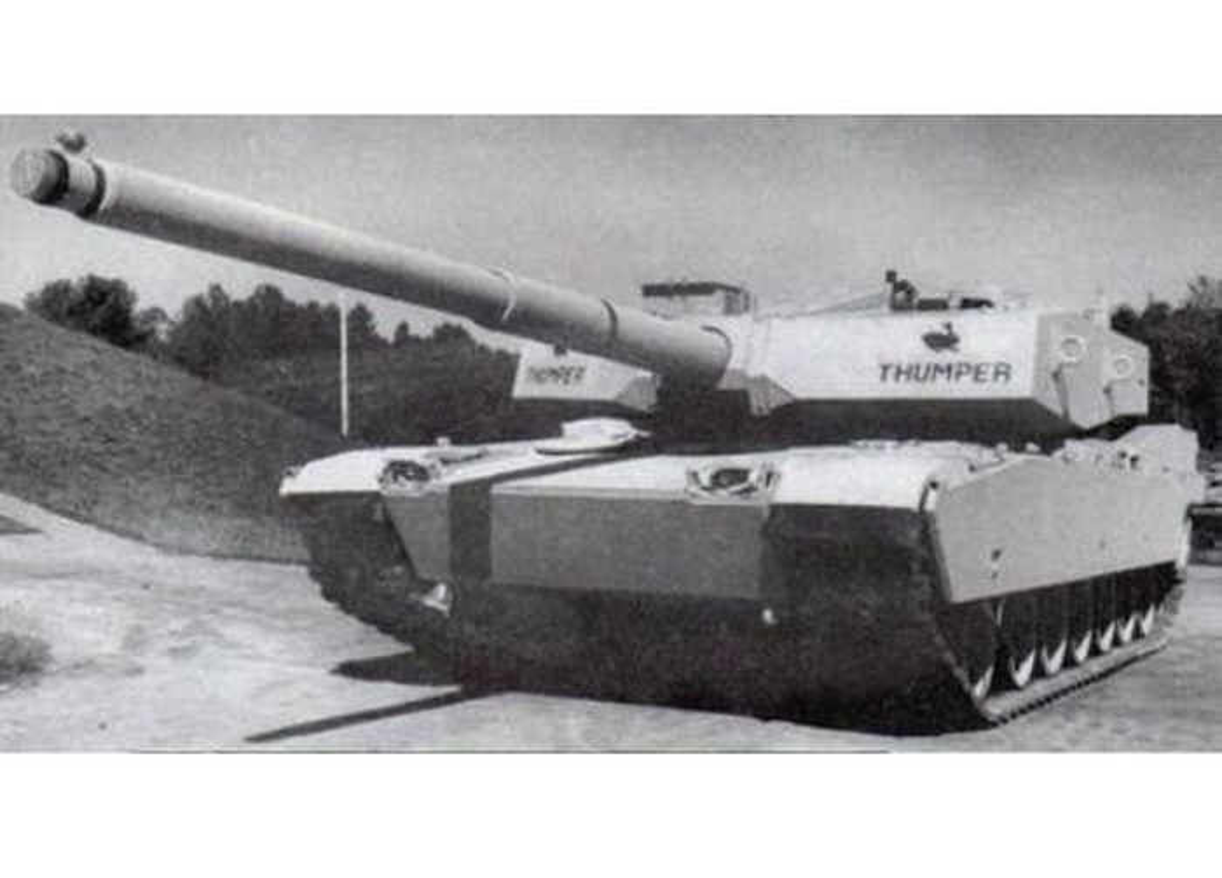 Vi T-14 Armata cua Nga, My se khoi phuc sieu tang M1A3 Abrams Thumper-Hinh-7