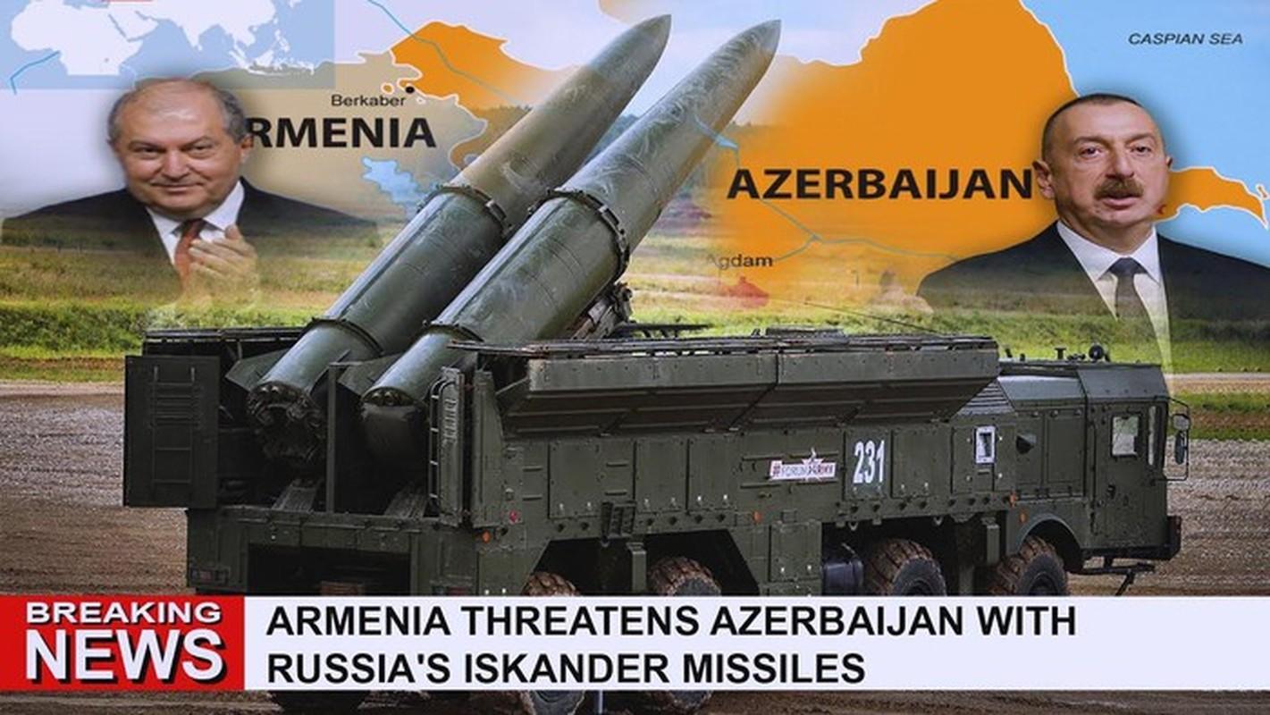 Sau Su-30SM, den luot Iskander-E cua Armenia bi coi la