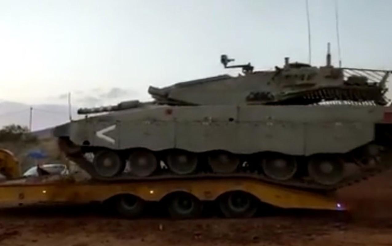 Ly do ngo ngan khien sieu tang Merkava Mk-4 cua Israel lat ngua