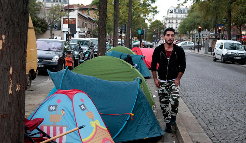 Cuoc song cua nguoi ti nan Syria giua long thu do Paris-Hinh-2
