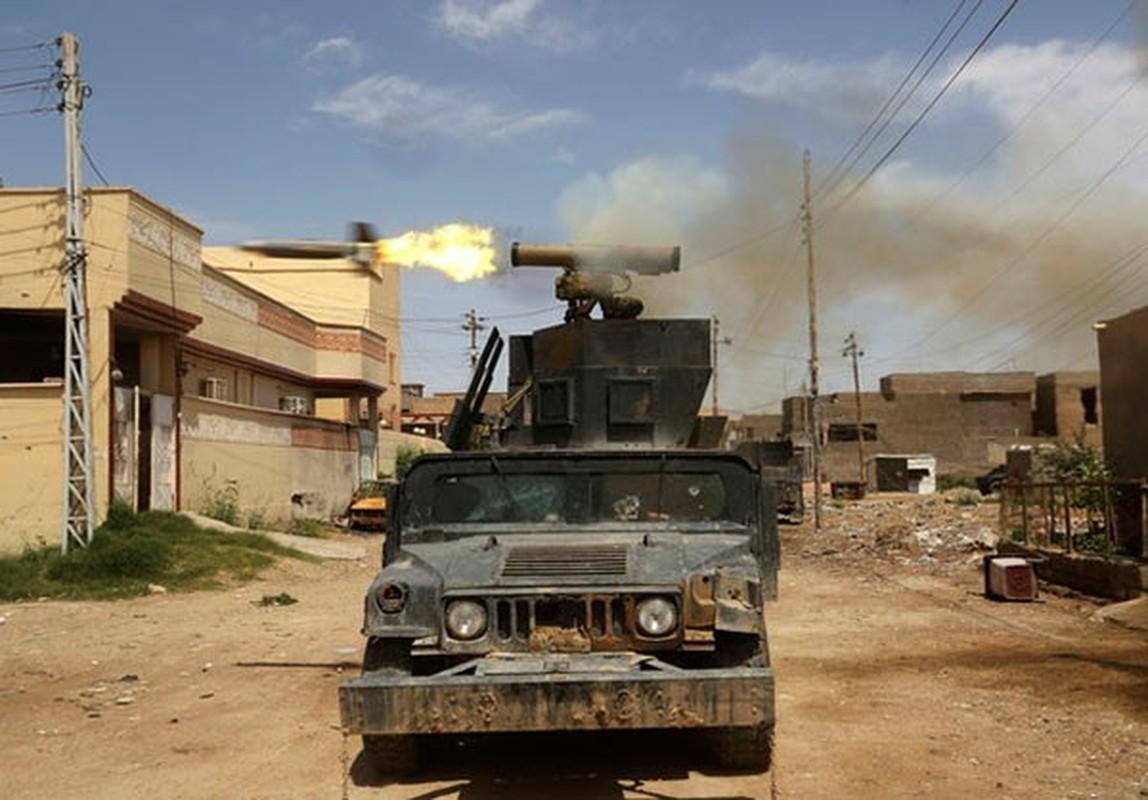 Canh nguoi dan Iraq tro ve thanh pho Heet vua giai phong