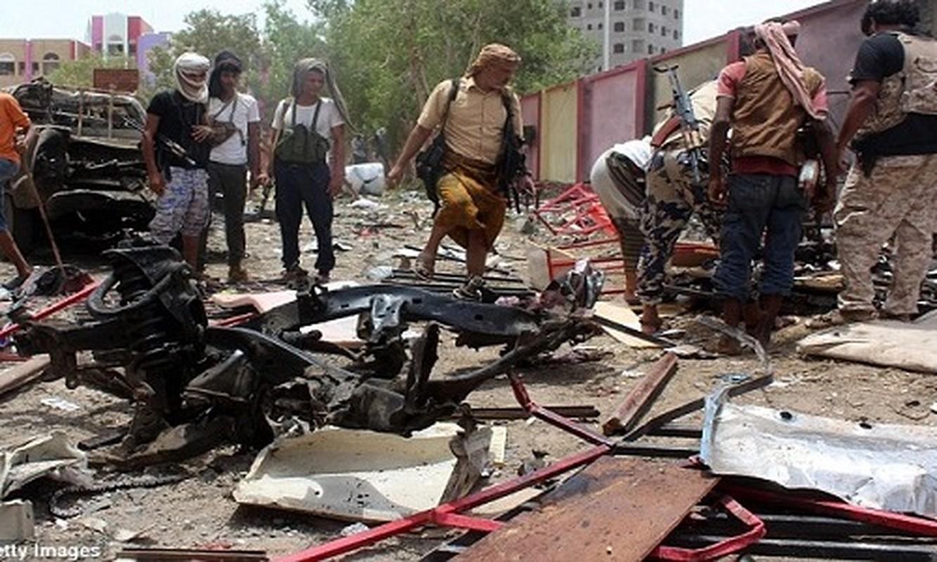 Hien truong vu danh bom kinh hoang o Yemen