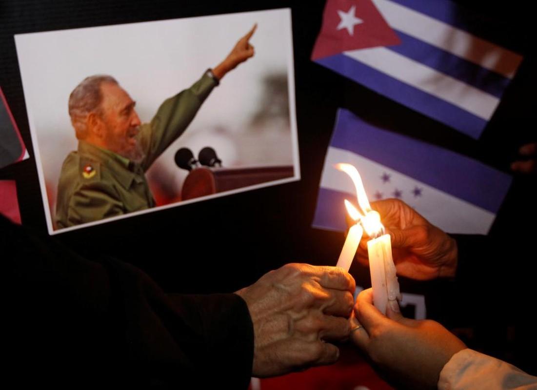 Chum anh the gioi tuong nho lanh tu Cuba Fidel Castro-Hinh-12