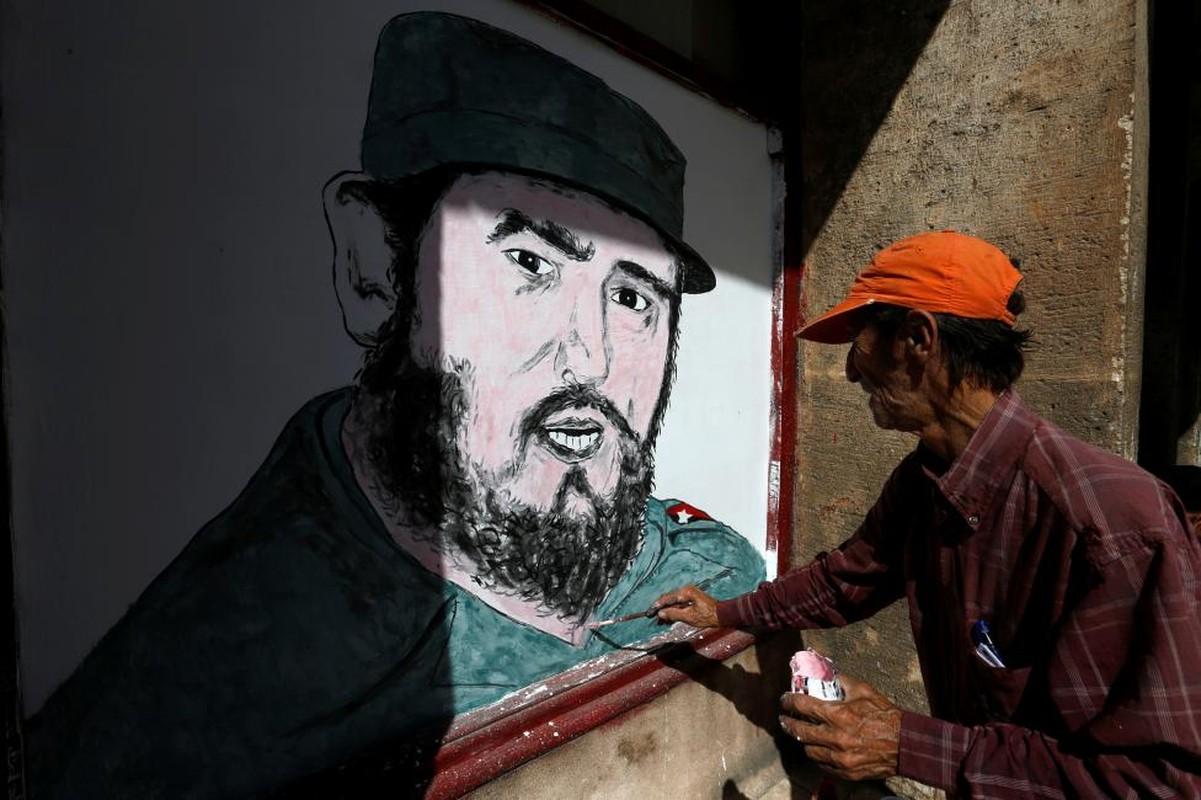 Chum anh the gioi tuong nho lanh tu Cuba Fidel Castro-Hinh-9