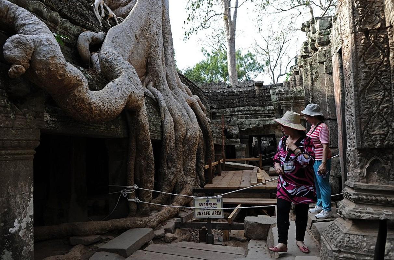 Kham pha ve dep quan the Angkor noi tieng o Campuchia-Hinh-2