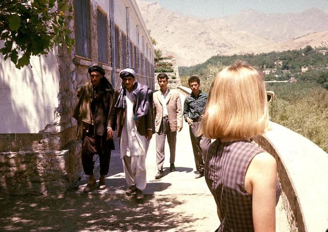 Chum anh cuoc song yen binh o Afghanistan nhung nam 1960