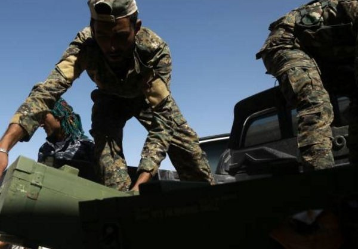 "Anh: My ""tuon"" vu khi cho nguoi Kurd tai Raqqa-Hinh-3"