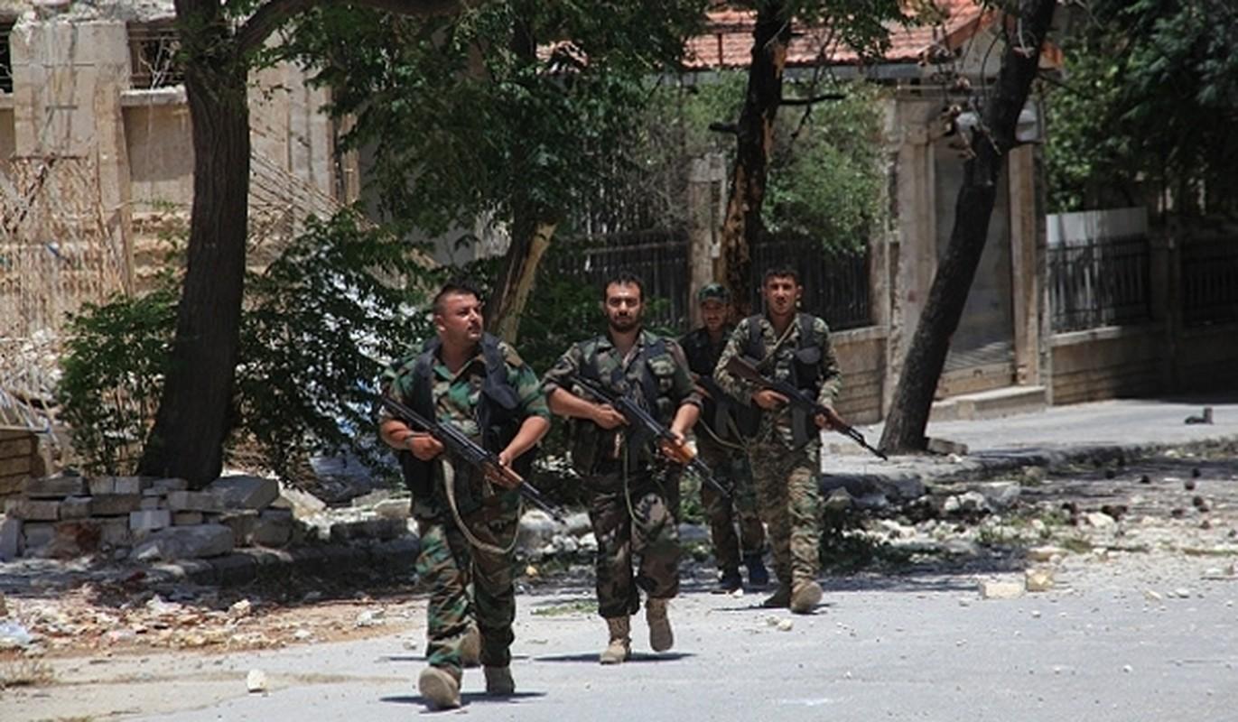 Anh: Quan Syria dai thang o Homs, chiem mo khi dot Arak
