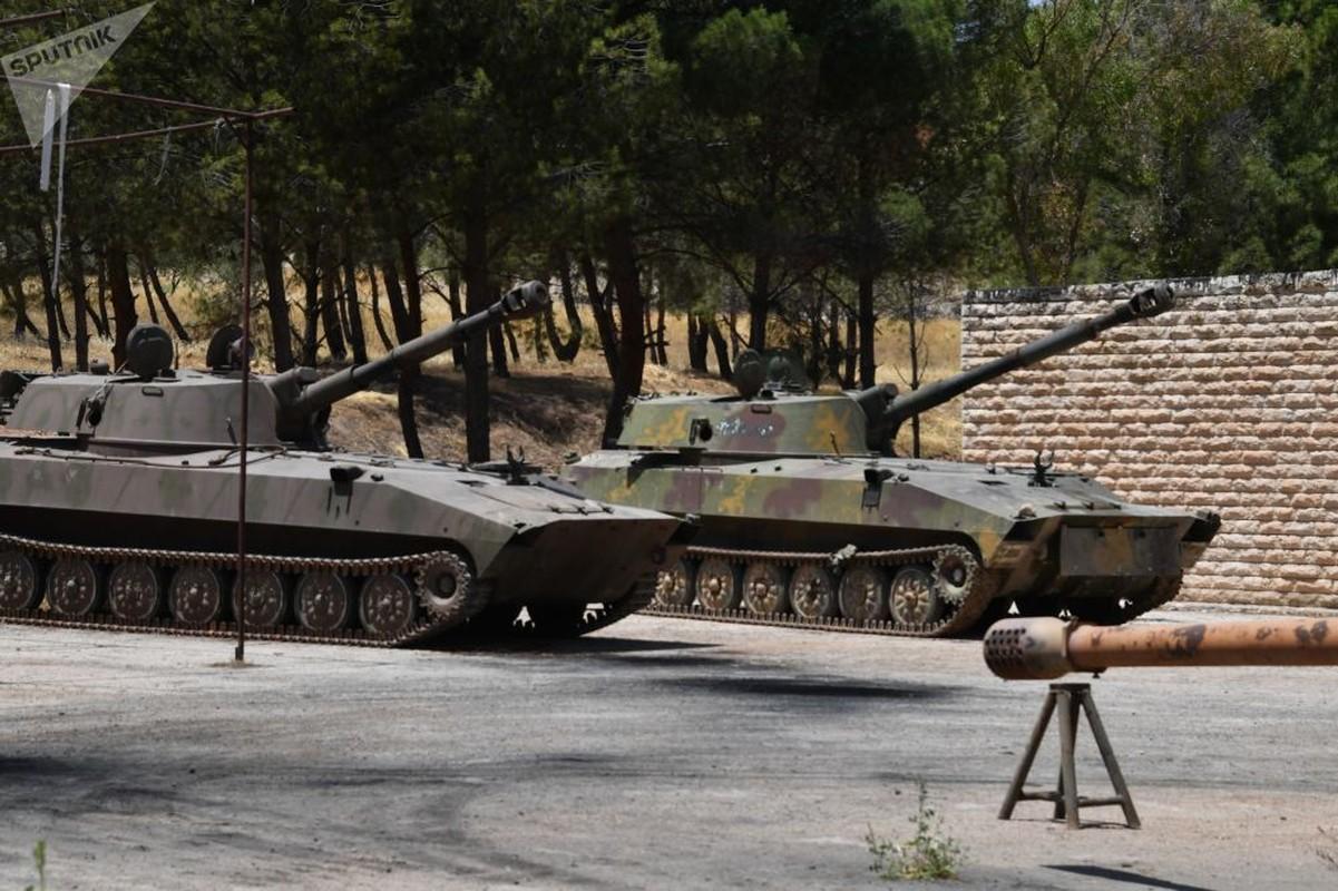 Dot nhap xuong sua chua vu khi cua quan doi Syria o Hama-Hinh-2