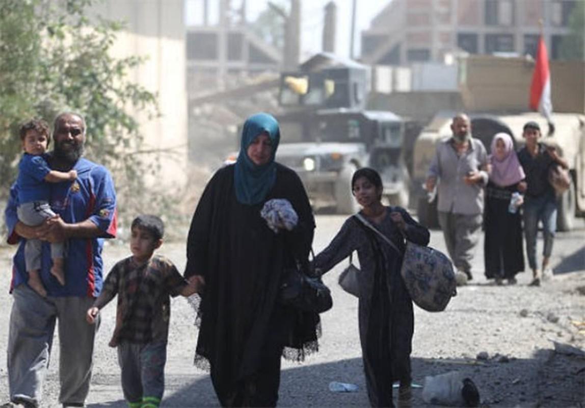 Anh: Giao tranh du doi, dan Iraq keo nhau roi Thanh co Mosul-Hinh-3